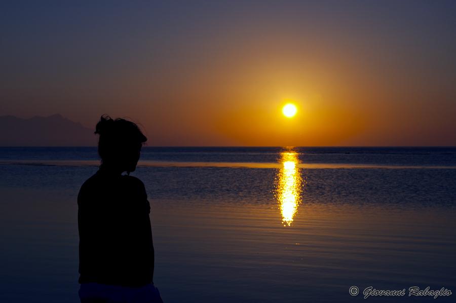 Un tramonto è un fenomeno intellettuale
